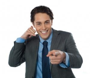 Kontaktaufnahme per Telefon